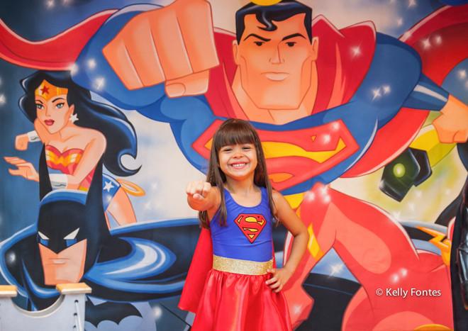 Fotos da Festa Infantil da Luisa – Tema Super Heróis – Balangandã – RJ