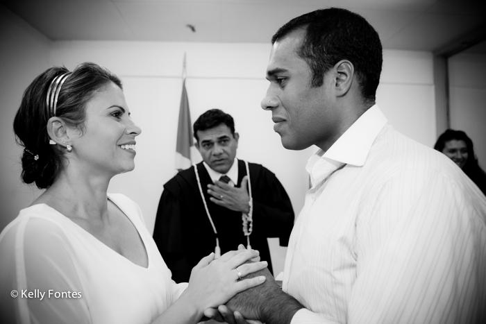 Fotografia casamento civil RJ Juiz de Paz Roberto Souza Moysés - Barra da Tijuca