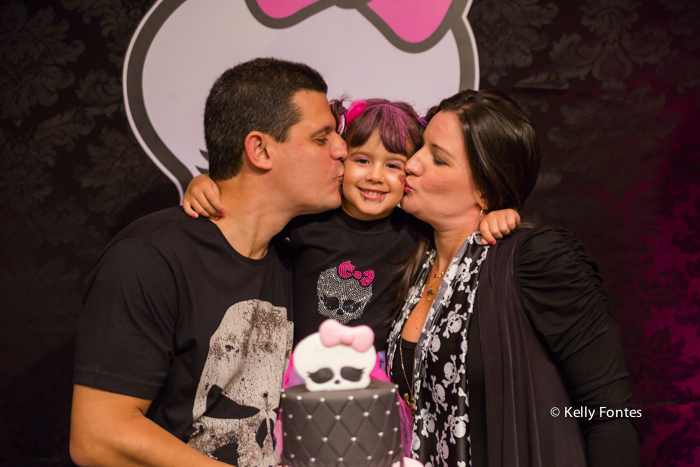 Fotografia Festa Infantil RJ por Kelly Fontes monster high imaginarte copacabana beijo dos pais
