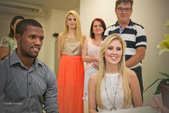 Fotografia casamento civil RJ Ana Paula e Carlos César jogador do Vasco Rj