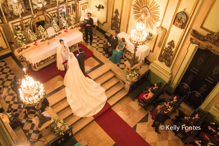 fotografia casamento rj Igreja Sao Jose Centro do Rio de Janeiro cerimonia religiosa catolica padre