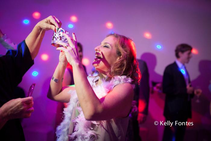 Fotografia festa de aniversário RJ 50 anos Raquel STVIP espaço de eventos na pista de dança princesa