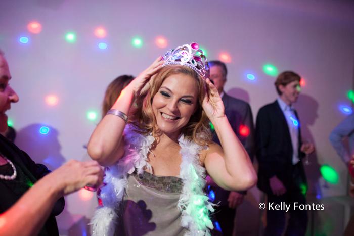Fotografia festa de aniversário RJ 50 anos Raquel STVIP espaço de eventos na pista de dança feliz