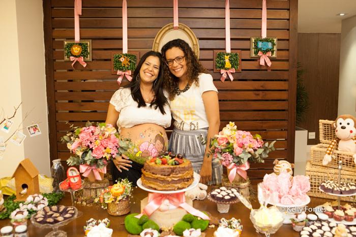 fotos cha de bebe RJ cha de fraldas Ana Clara com a decoradora Vanessa Oliveira