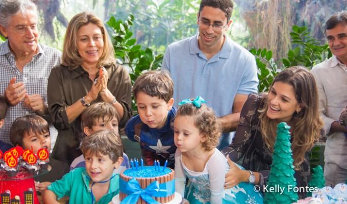 Fotos de Festa Infantil RJ – Marina e Pedro – Na Moitta – Itanhangá