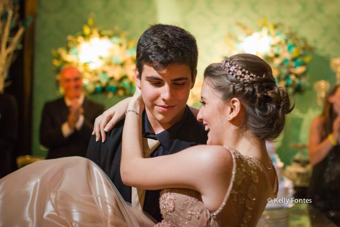 Fotos festa de 15 anos RJ valsa com o principe fotografia debutante Book por Kelly Fontes