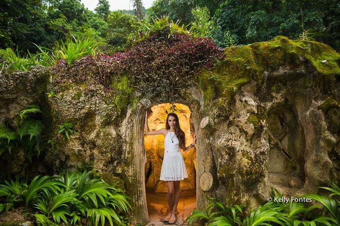 Book 15 anos RJ Parque Lage Jardim Botanico debutante na gruta por Kelly Fontes