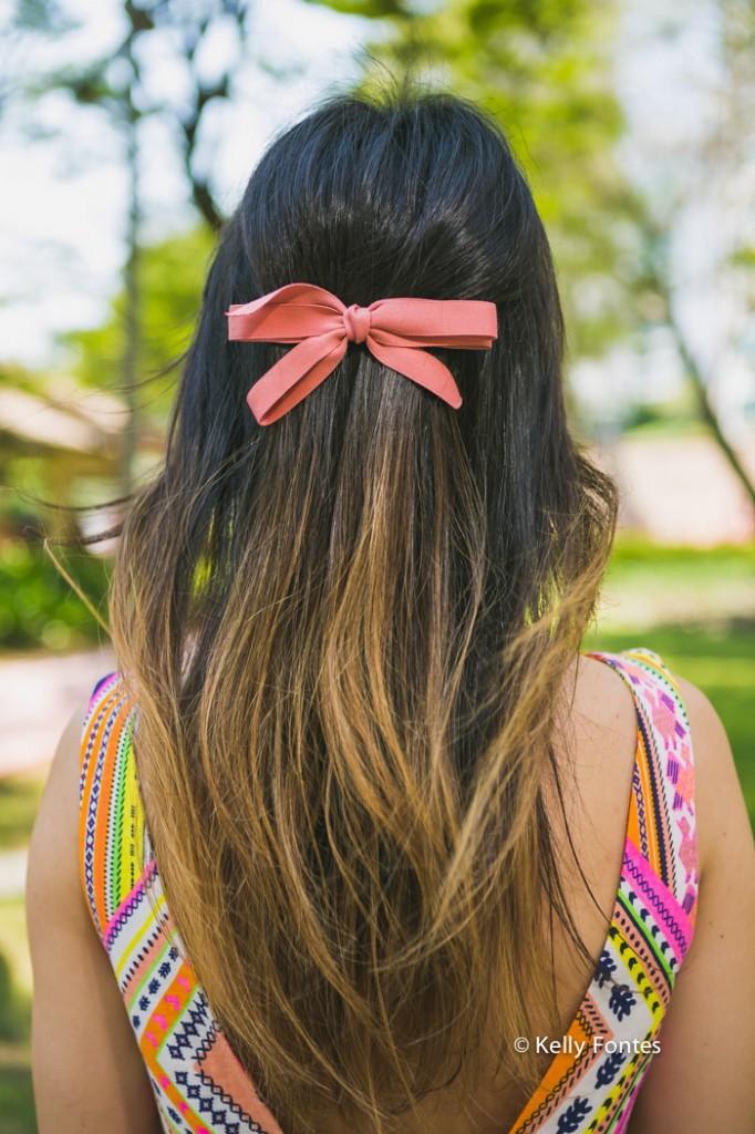 Fotos look do dia RJ laço no cabelo wfashionista blogueiras por Kelly Fontes workaholic fashionista
