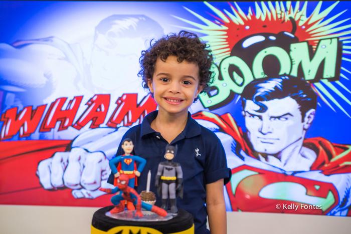 Fotografia Festa Infantil RJ Animason Botafogo liga da justica super homem aranha batman por Kelly Fontes