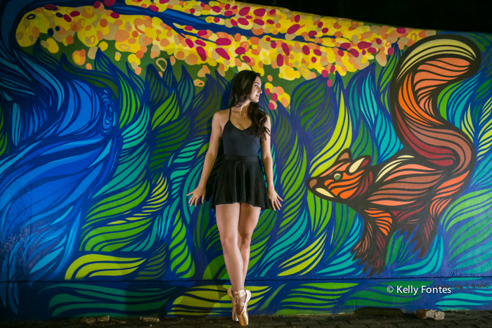 Book 15 anos RJ Luisa ensaio debutante bailarina na ponta do pé jardim botanico