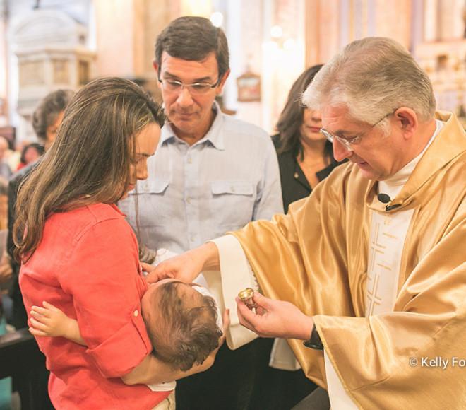 Fotos de Batizado RJ – Thiago – Igreja Santo Inácio – Botafogo