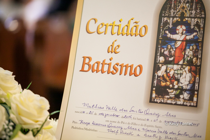 Fotos Batizado RJ Mathias certidão de batismo na Igreja Luterana Evangelica por Kelly Fontes