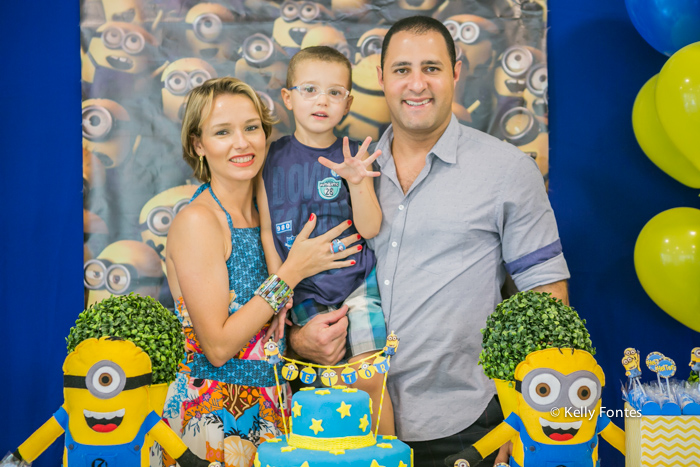 Fotos festa infantil rj Heitor Clube Paisandu Leblon Minions