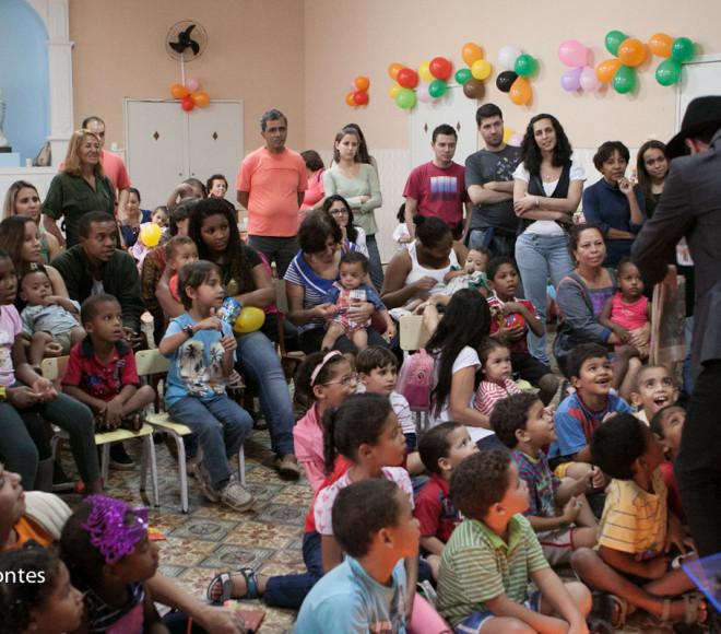 Festa no Orfanato Romão Duarte