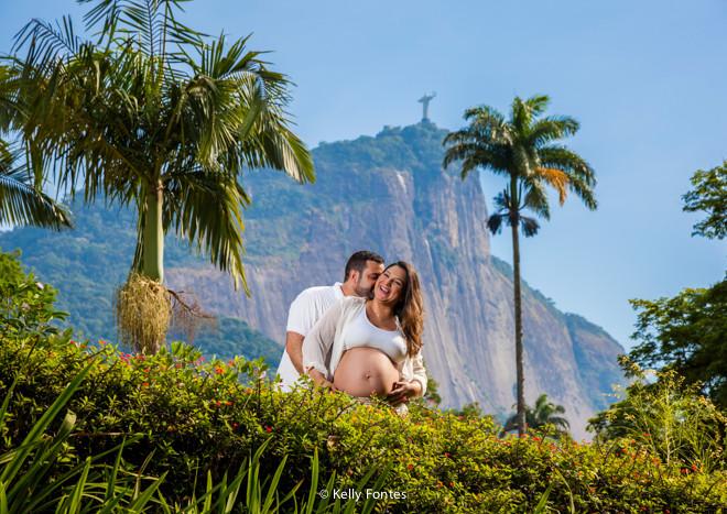 Book Gestante RJ – Flavia esperando Heitor no Jardim Botânico