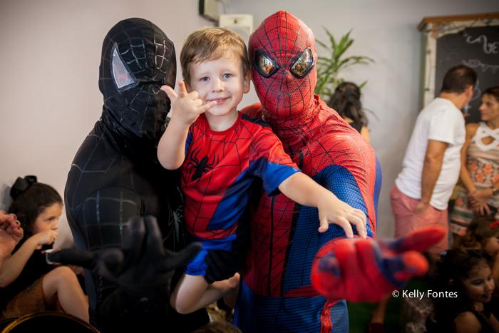 fotografia festa infantil rj homem aranha 4 anos casa de festas aldeia barra